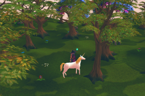 Runescape Seers Village Unicorn Found