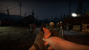 Horde of zombies attacking the player in no more room in hell game ynef.net