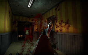 Zombie getting shot by a shotgun in no more room in hell zombie game ynef.net