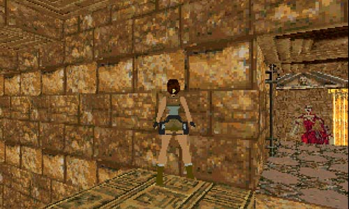 Centaur mob in tomb raider 1 base level ms dos custom level fan made