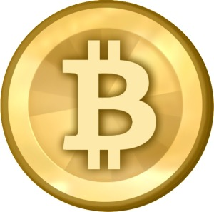 Picture of a bitcoin