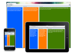 Fluid responsive layout picture