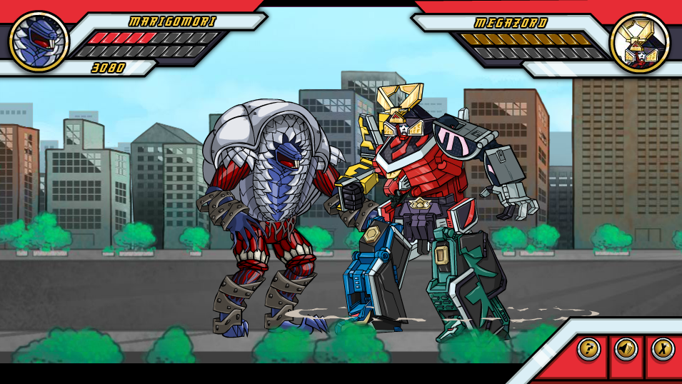 Rangers Together Samurai Forever Power Rangers Game Screenshot