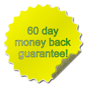 60 day money back guarantee effect