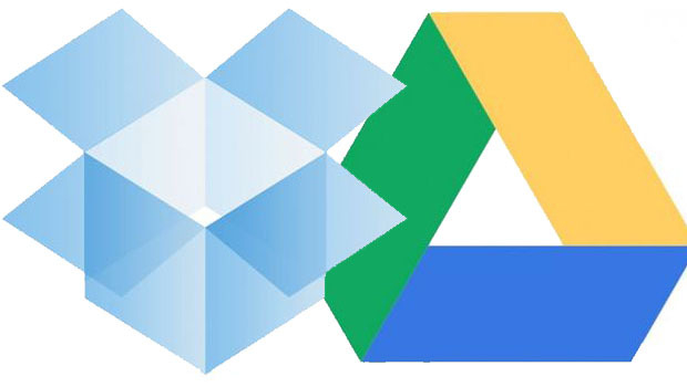 dropbox or google drive