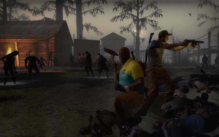 Left 4 Dead teamwork
