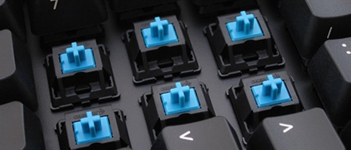 Mechanical keyboard cherry mx blue