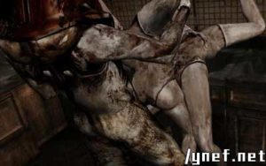 Pyramid Head Abusing and Raping Two Helpless Mannequins