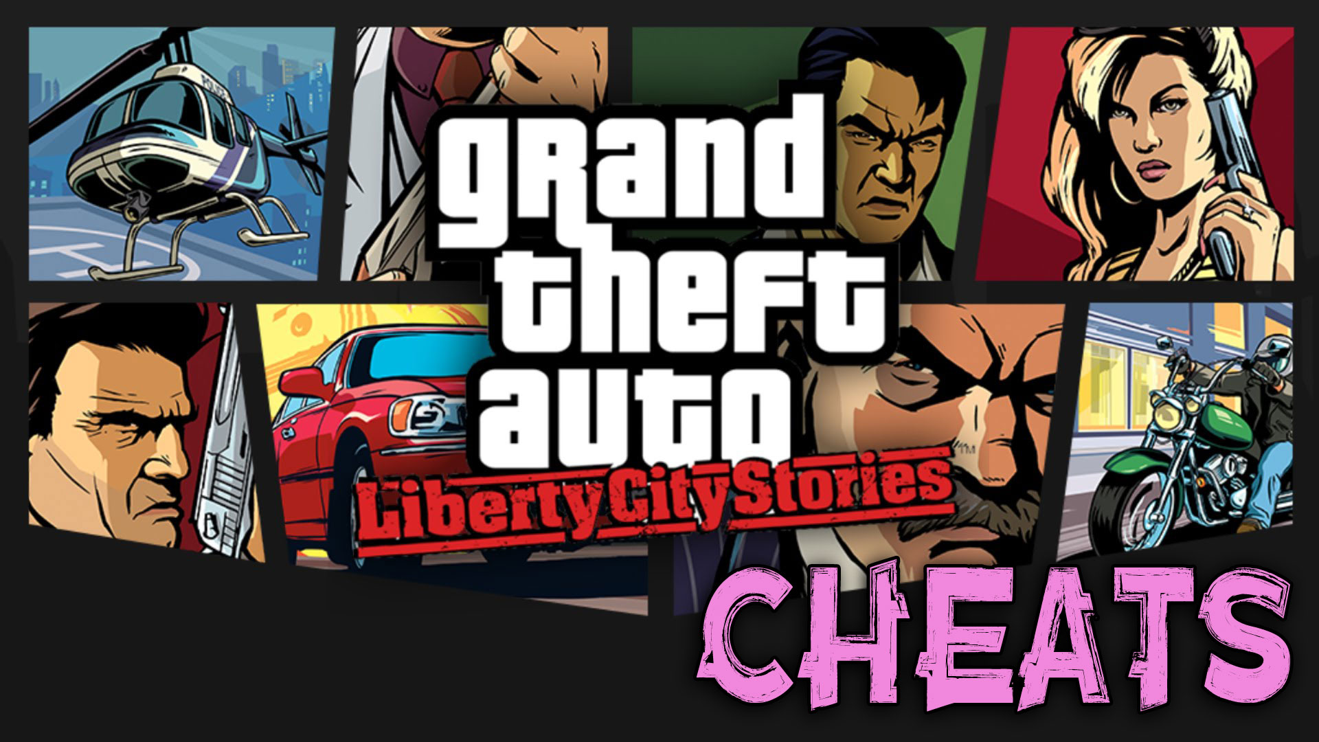 Grand theft auto gta liberty city stories cheats